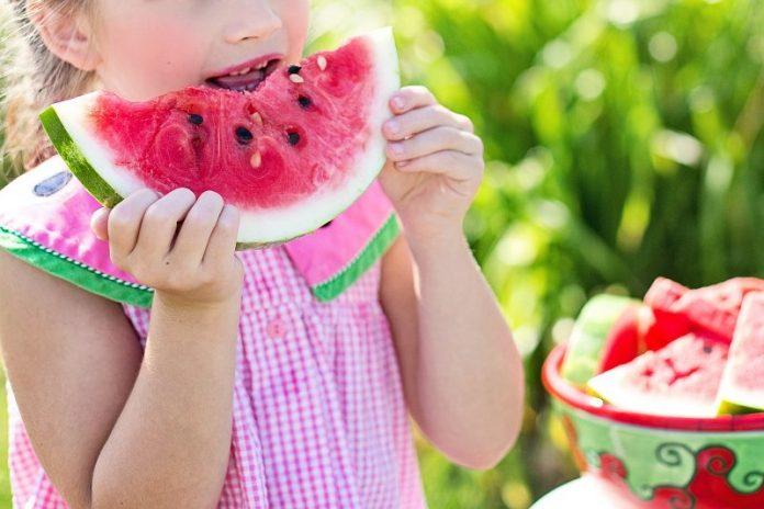 Wassermelone - leckere, süße Alternative im Rahmen einer gesunden Ernährung für Kinder (c) CCO Lizenz, pixabay.com, Jill111
